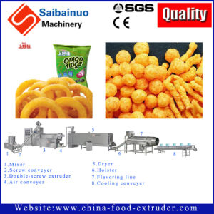 Snack Manufacturing Machine Extruder Plant pictures & photos