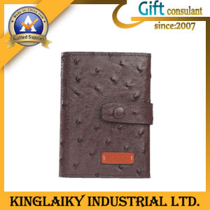 Colorful Promotional Men′s Leather Wallet for Promotion (KSM-005) pictures & photos