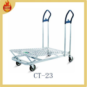 Cheap Powder Coated Carbon Steel Warehouse Trolley (CT-023) pictures & photos