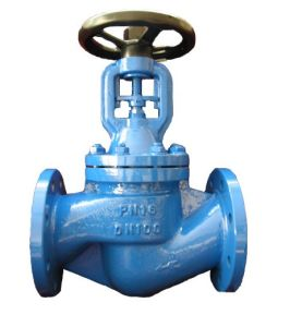 Cast Steel Globe Valve with Flange End Pn40 pictures & photos