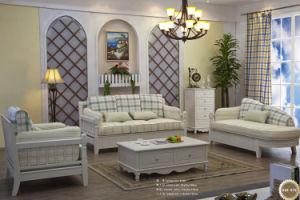 Home Furniture Washable Fabric Sofa Set (SQL-873)