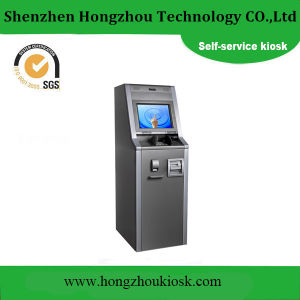 Customized Airport Ticket Vending Machine Kiosk with Barcode Scanner pictures & photos