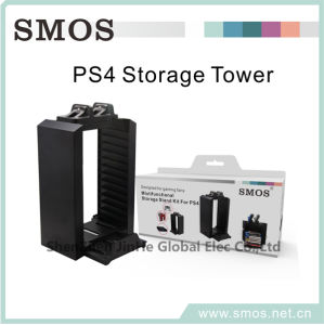 Storage Tower for Play Station 4 Video Game