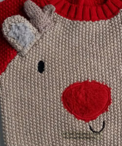 Kids Sweater Intarsia Reindeer for Boys pictures & photos