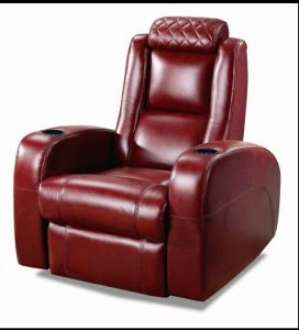 High Quality Home Theater Recliner Genuine Leather Sofa (A168) pictures & photos