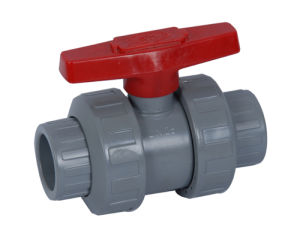 UPVC Flanged Ball Valve pictures & photos