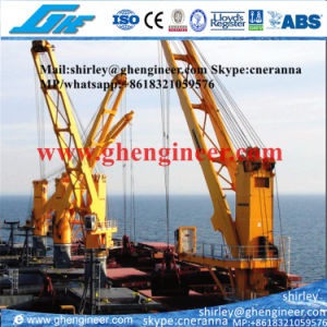 Eelctrical Barge Crane for Bulk Cargo Transshipper pictures & photos