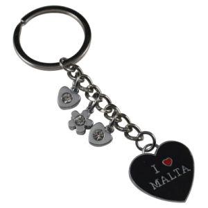 Souvenirs -Zinc Alloy Enamel Charm Key Chain Metal Keyrings Llavero Melalico pictures & photos