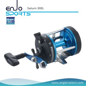 Saturn Strong Graphite Body / 1 Bearing / Right Handle Sea Fishing Trolling Reel Fising Tackle Reel (Saturn 300L) pictures & photos