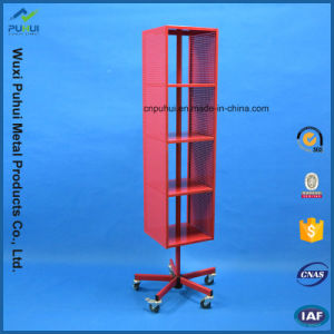 Floor Standing Metal Store Fixture (PHYN113) pictures & photos