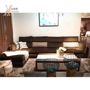 Modern Fashion Fabric Living Room Sofa Set (GC811)