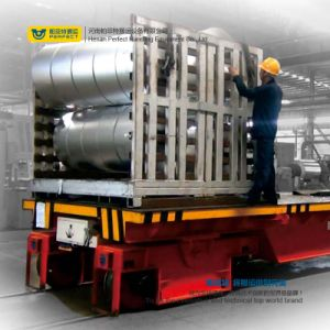 Heavy Industry Coil Transfer Vehicle with Cast Wheels pictures & photos