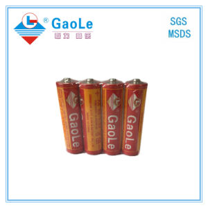 Super Heavy Duty AA 1.5V R6p Battery in Red Jack pictures & photos