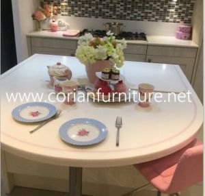 Home Furniture Corian Dining Table pictures & photos