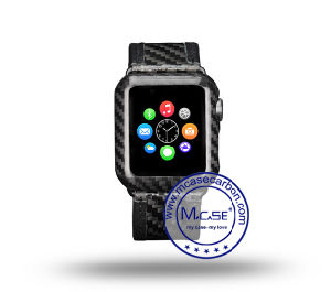 Napov Newest Real Carbon Fiber Watch Cover for Apple Watch Series 2 38mm pictures & photos