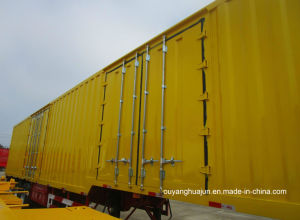 14.6 Meters 3 Axles Van Type Semitrailer pictures & photos
