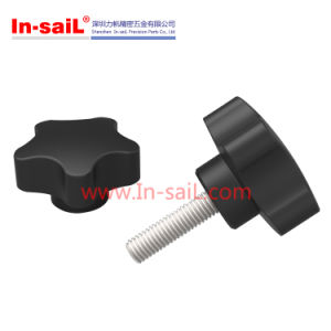 Male Thread 32mm Plastic Star Head Clamping Knob pictures & photos