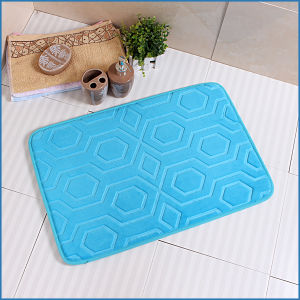 High Quality Non-Slip Bathroom Memory Foam Flooring Rugs pictures & photos