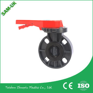 PVC Butterfly Valve for Water Supply pictures & photos