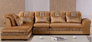 Classic Furniture Fabric Wooden Sofa (HX-SL012) pictures & photos