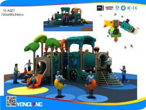 Amusement Park Children Toy Train Series Outdoor Playground Equipment with Slide (YL-A027) pictures & photos