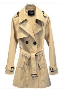Temperament of The Autumn Fashion Leisure Trench Coat Lady Suit