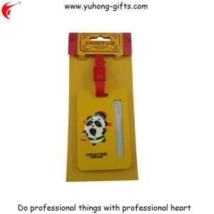 Hot Sale Luggage PVC Tag for Promotion (YH-LT008) pictures & photos
