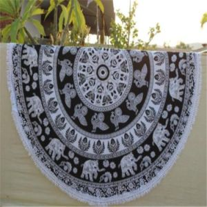 Hot Selling Wall Hanging Indian Printed Wholesale Mandala Elephant Tapestry pictures & photos