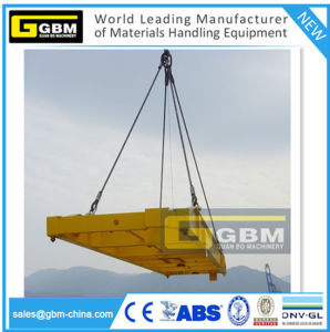 20FT 40FT Simple Automatic Fixed Spreader Beam Mobile Type Container Spreader Lifting pictures & photos