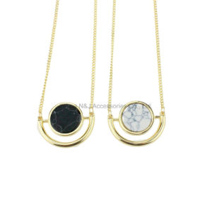 Fashion Natural Stone Pendant Necklace for Women Jewelry pictures & photos
