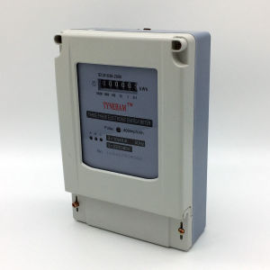 Dts-3r Three Phase Plastic Energy Meter pictures & photos