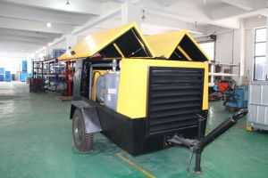 Skid Mounted/Portable Electric Motor Driven Screw Air Compressors (Low, Medium Pressure etc) pictures & photos