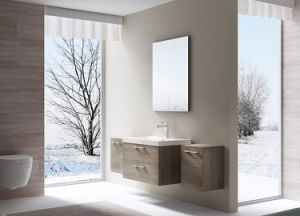Modern Bathroom Vanity Hanging Corner MFC Bathroom Cabinets pictures & photos