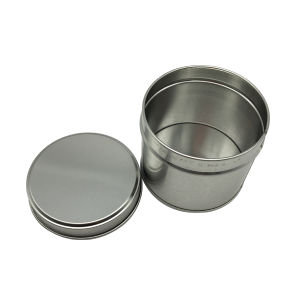 Seamless Candle Tin Can No Printing Round Tin Box pictures & photos