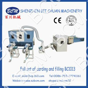 Fiber Carding and Filling Machine pictures & photos