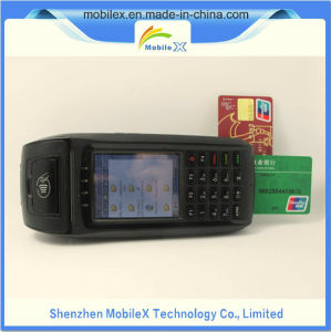 Handheld POS Terminal with Smart Card Reader, Printer, 3G, GPS pictures & photos