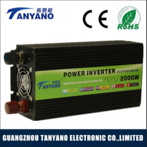 Hot Sale 2000W DC12V to AC220V Modified Sine Wave Inverter pictures & photos