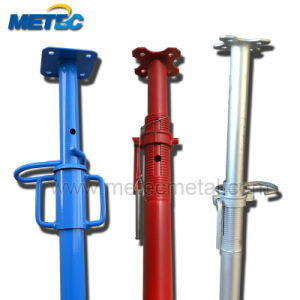 Gi Adjustable Shoring Steel Props Jack/Scaffolding Shoring Post Props Jack Used in Construction pictures & photos