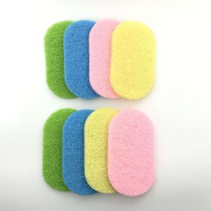 High Density High Quality Abrasive Green Scouring Pads pictures & photos