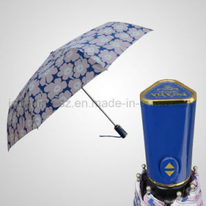 Fashion 3 Folding Automatic Open&Close Rain/Sun Umbrella (JF-APD301) pictures & photos