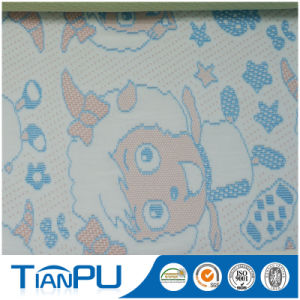 Breathable PU Coated Cartoon Pattern Jacquard Elastic Textiles for Mattress Protector pictures & photos