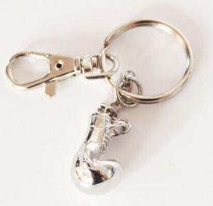 Metal Fitness Keychain, Glove Charm Keychain, Crossfit Charm Pendant, Fashion Gift