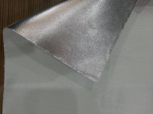 Glass Fibre Aluminum Foil Fabric pictures & photos