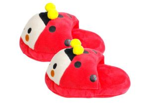 Slipper Pattern Plush &Stuffed Squeaky Pet Toy for Dog pictures & photos