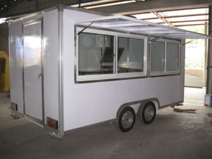 Mobile Fast Food Carts (SHJ-MFS400H) pictures & photos