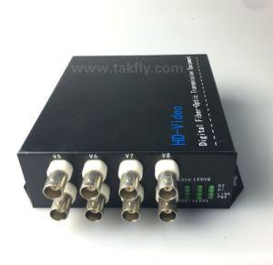 8 Channel 1080P Ahd&Cvi&Tvi Video Digital Optical Converter/Transceiver pictures & photos