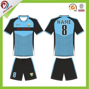 Panton Color Custom Wholesale Soccer Jersey Set Uniform 2017 pictures & photos
