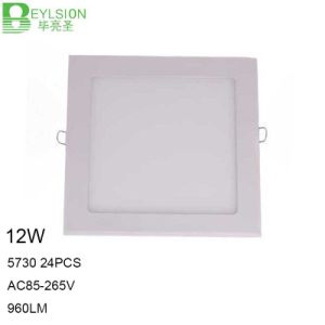 12W High Power LED Panel Lights Lightings pictures & photos