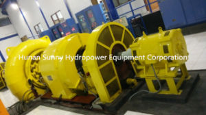 Francis Hydro (Water) -Turbine / Hydropower / Hydroturbine 131~1310 Feet Head pictures & photos