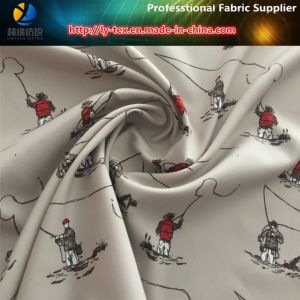 Polyester Printing Twill Men Shirting Fabric, Fishing Men pictures & photos
